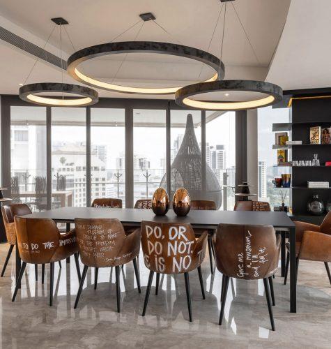 Seating area interior design
