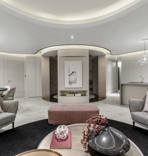Living room 360 interior design