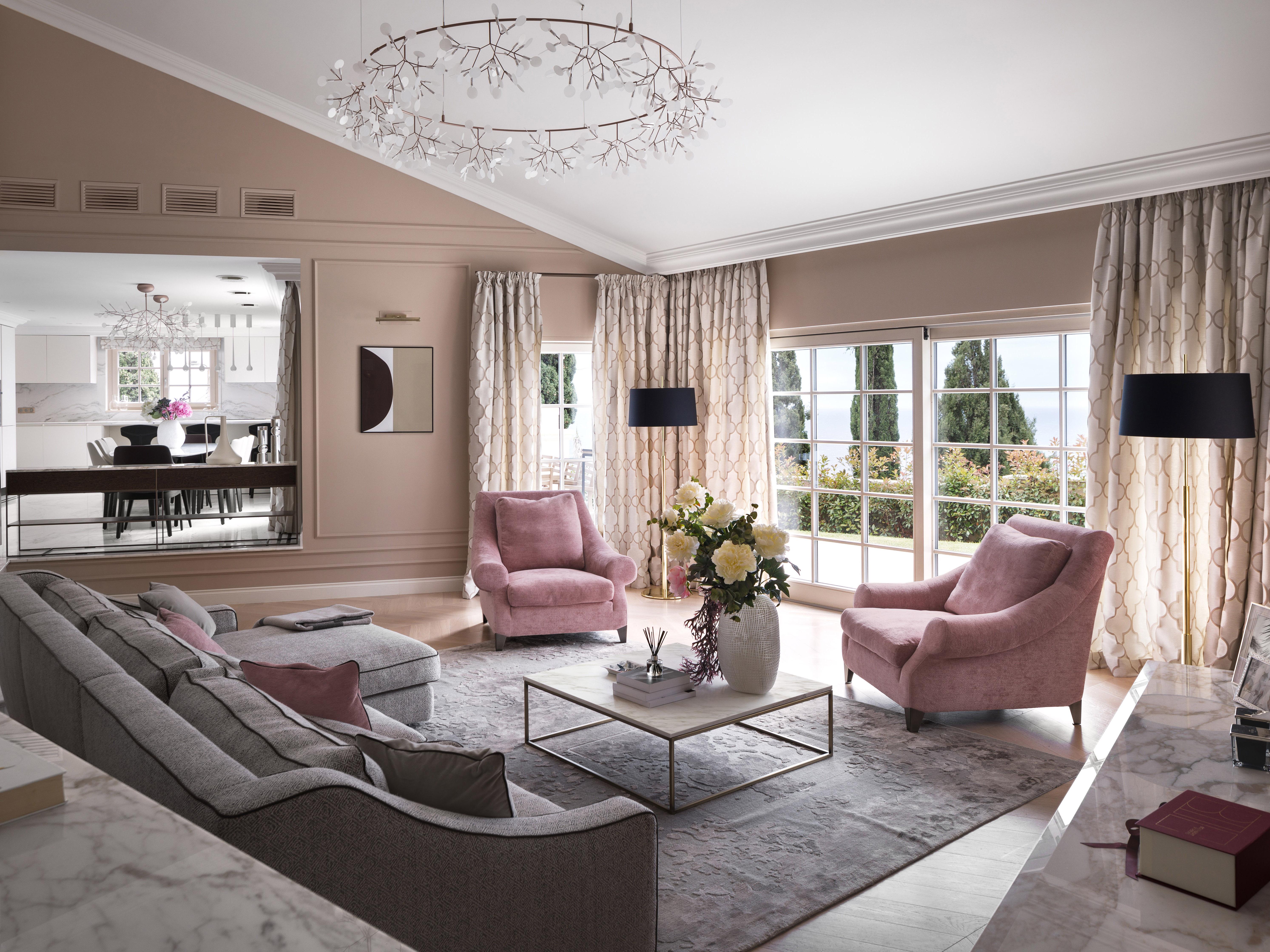 Private Residence at Roquebrune-Cap-Martin Interior Design
