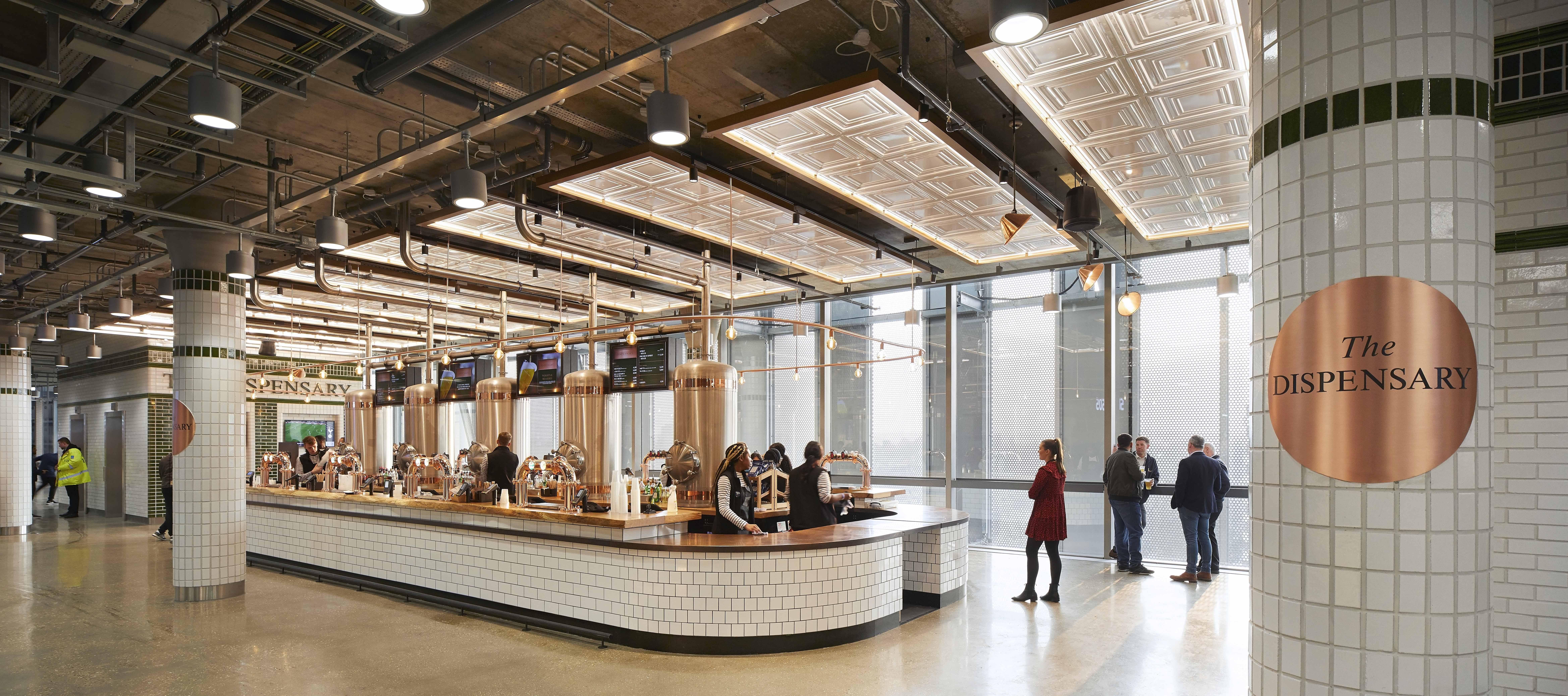 Tottenham Hotspur Stadium General Concourses Sbid Awards
