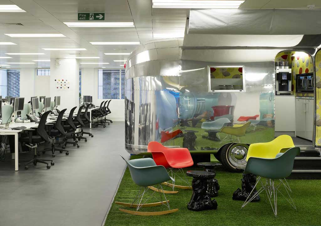 Mintel hq international design excellence awards for Award winning office interiors