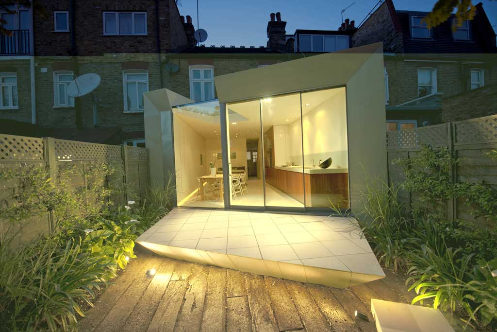 Faceted House 1