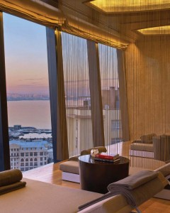Espa at Baku Flame Towers Fairmont 3