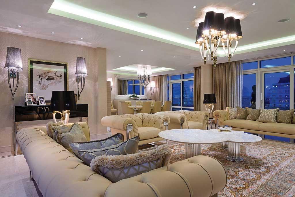 London Riverside Penthouse International Design