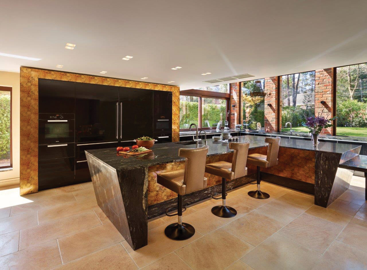 Gold Black Kitchen International Design Excellence Awards