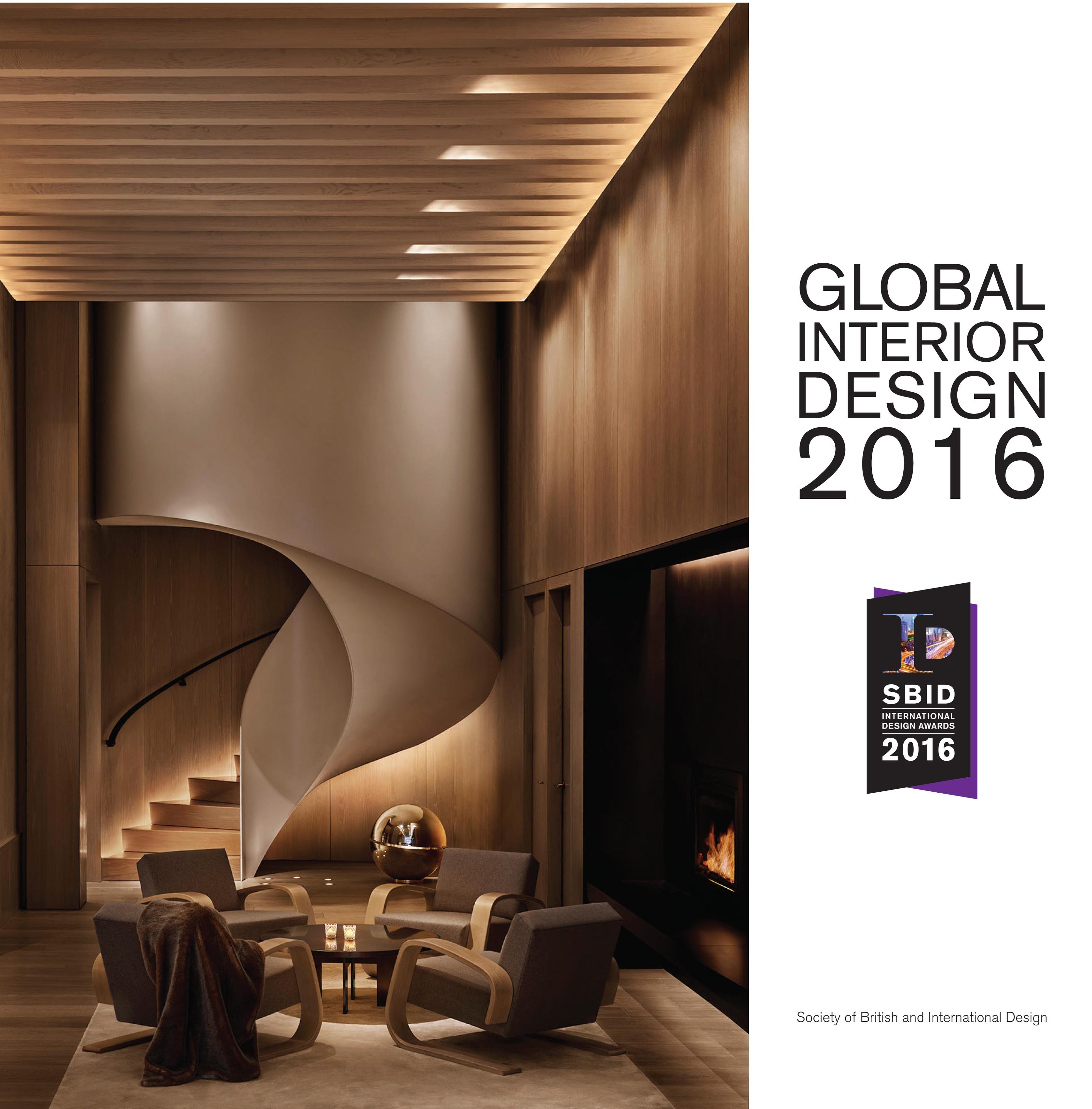 SBID International Design Awards Book 2016
