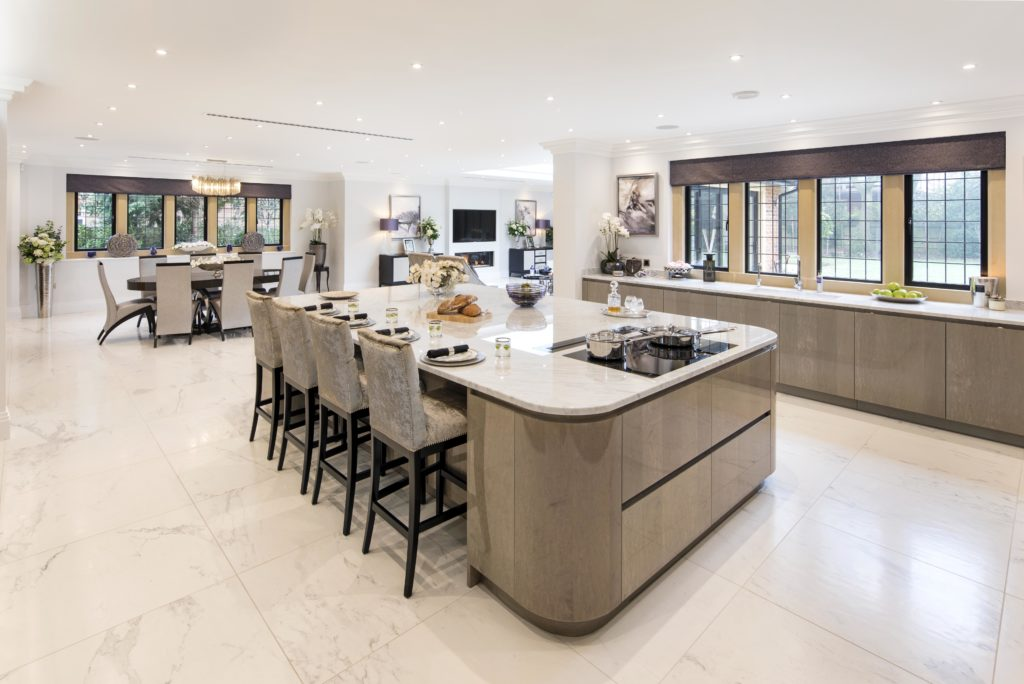 Oakeve Interior Architect Design Practice Was Involved In Every Aspect Of  The Interior Design Of Hurlingham. This Imposing, New Build Manor  House Style ...