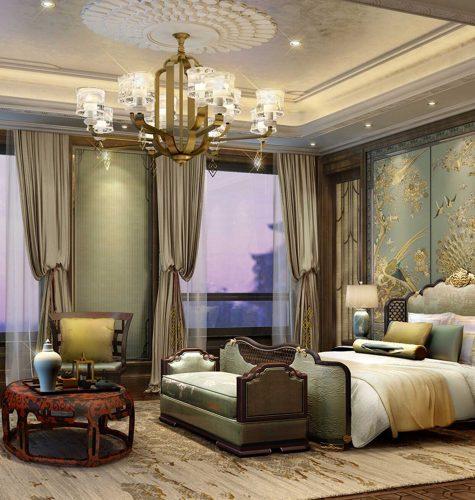 Shimao Loong Palace Villa Bedroom Design