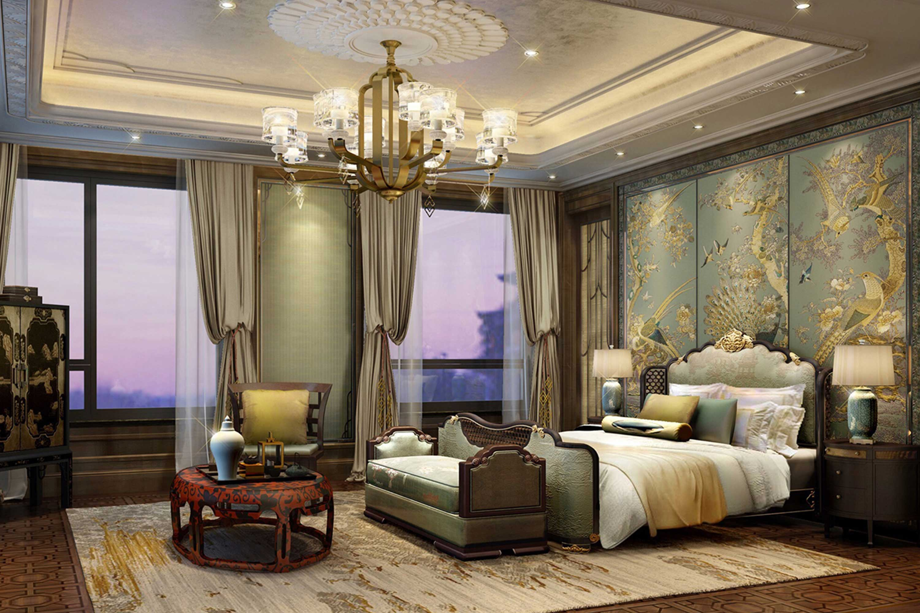 Shimao Loong Palace Villa Bedroom Design