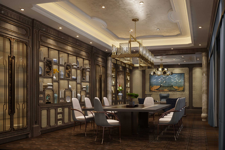 Interior design meeting room