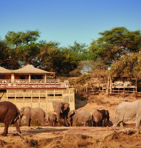Belmond Safaris, Savute Elephant Lodge, Botswana.