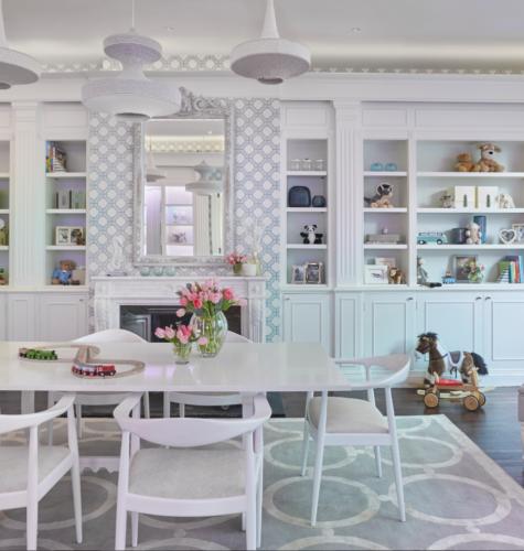 Eating area interior design