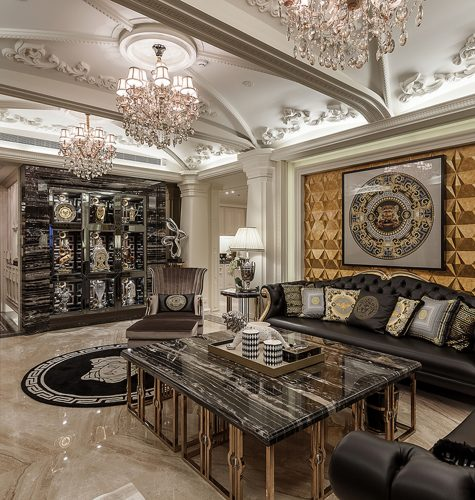 Intoxicating Versace Interior Design