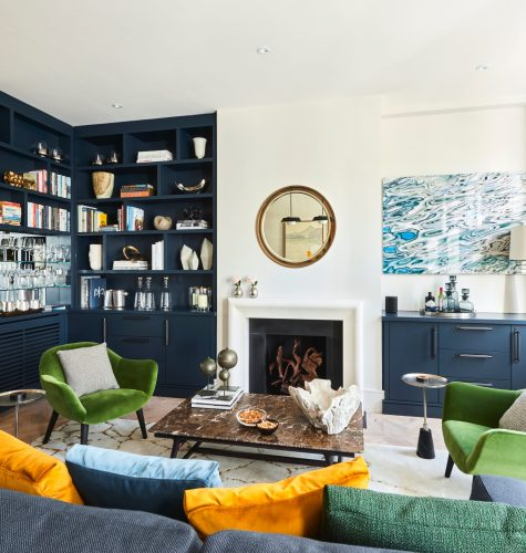 West London Pied-a-Terre Interior Design