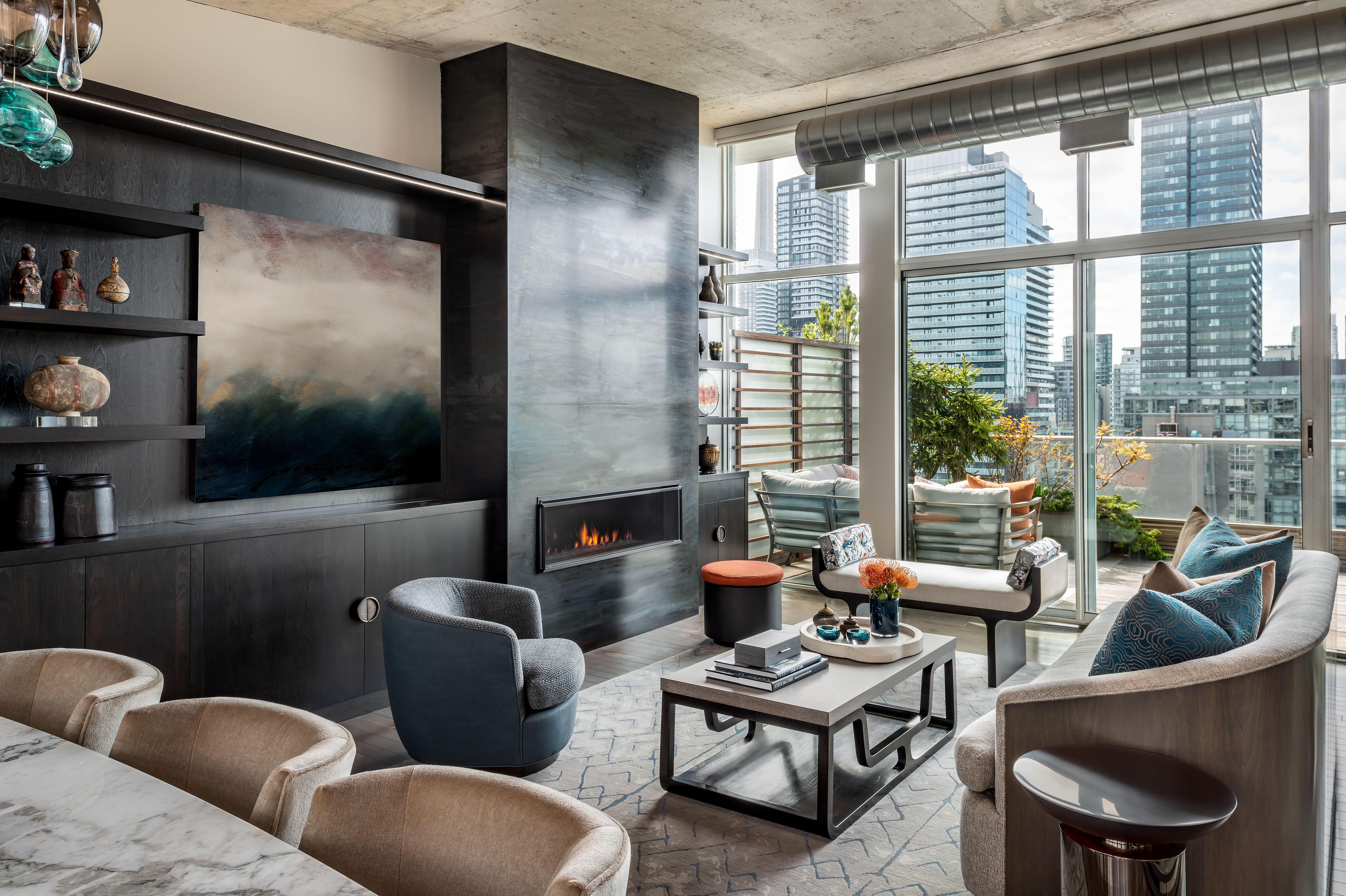 Toronto Penthouse Interior Design