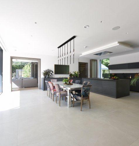 Stone & Metal Luxury Kitchen