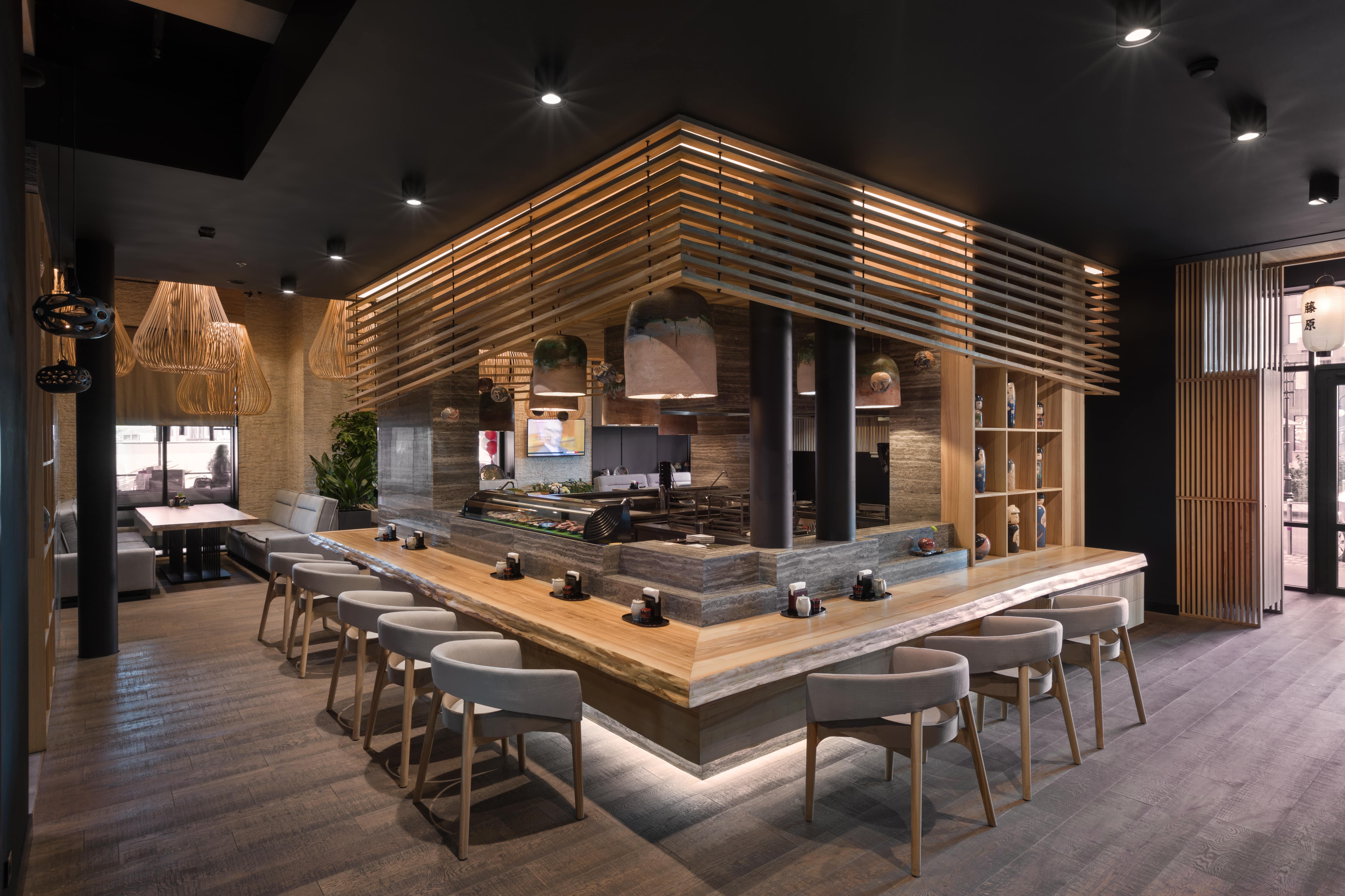 Fujiwara Yoshi Restaurant International Design Excellence Awards