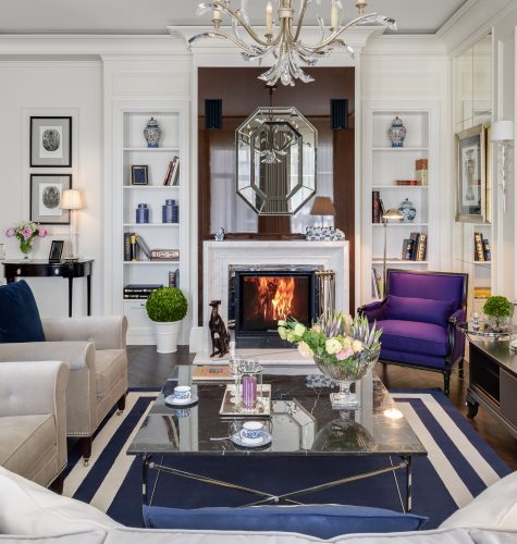 Apartment with History Living Room Design